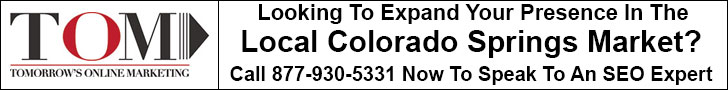 Call Tomorrow's Online Marketing for your free Best Colorado Springs SEO Company consultation.