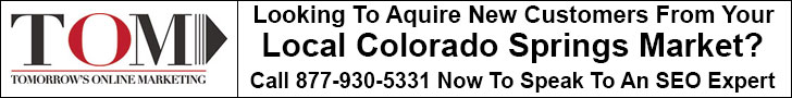 Phone Tomorrow's Online Marketing for your free Colorado Springs SEO Firm consultation.