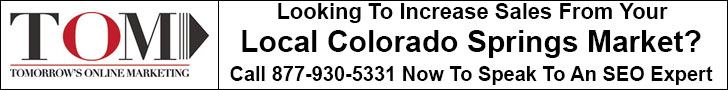 Phone Tomorrow's Online Marketing for your own free Top SEO Colorado Springs Company consultation.
